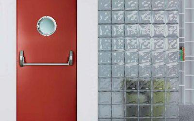 El Grupo Madeplax presenta puertas cortafuegos para ambientes de alto tránsito