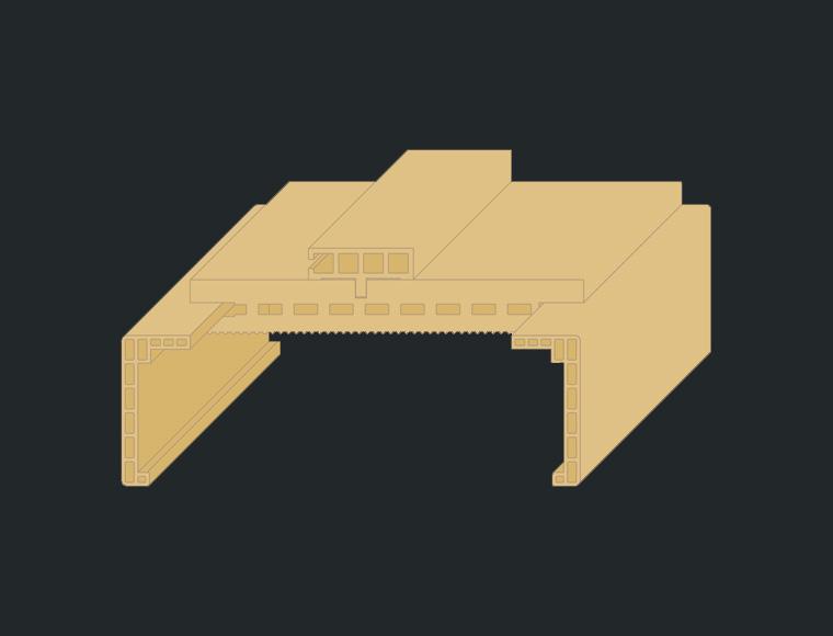 El Grupo Madeplax incluye en su catálogo nuevo diseño de galce para la gama MRH
