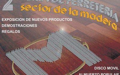 Inauguración de la exposición del Grupo Madeplax y la Segunda Feria de Ferretería del Sector de la Madera