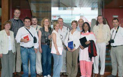 Comité de periodistas internacionales realiza visita al Grupo Madeplax
