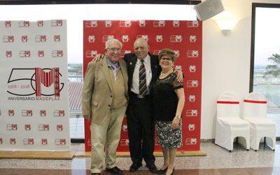 Proveedores y trabajadores del Grupo Madeplax hacen balance del 50 aniversario de la empresa